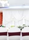 50 pezzi Sedia da sposa Archi Elastici Spandex Sedia copriscatte Bande Ricevimento banchetto di nozze Decorazioni - Bianco