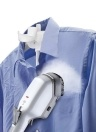 650W Portable Portable Tissu À Vapeur Vapeur Rapide Chaud-Vapeur Tissu À Vapeur Fer avec Brosse Détachable pour Maison Voyage AC220V EU Plug