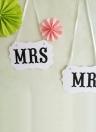 pack 5 criatividade MR e MRS casamento Garlands para fotografia de casamento festa Garland Banner Photo Booth adereços artigos de festas de formatura