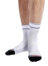 3 Pairs Men's Chinlon Athletic Cycling Socks Moisture Wicking Quick Dry Outdoor Running Hiking Socks for US 8.5-10 / UK 7.5-9 / European 42-45--Fluorescent Green