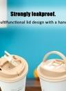Grumpy Cat Vacuum Cup Leakproof 304 Stainless Steel Vacuum Flask Gift Business Coffee Cup