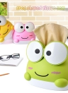 Original Genuine RB280 Lovely Frog Cartoon Home Plastic Tissue Paper Holder Cover Desktop Napkin Box