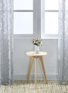 39 * 98 inches Polyester Semi-Blackout Grommet Top Window Curtain