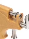 Ensemble outil professionnel en acier inoxydable à onglet anti-adhérent