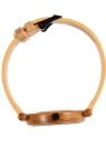 Anself Moda de alta qualidade natural de bambu de madeira Relógio de pulso 3ATM resistente à água Simplicidade na moda unissex relógio para aniversário de casamento