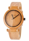 Anself Natural Bamboo Wooden 3ATM Water Resistant Wristwatch