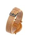 Anself la alta calidad de madera de bambú natural de pulsera resistente al agua 3 ATM La simplicidad de moda unisex del reloj de aniversario de boda
