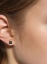 1 par gótico Moda retro único de la nueva vendimia plata de ley 925 del oído del perno prisionero del pendiente lindo muchachas de las mujeres de la joyería para el regalo de boda del partido