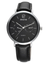 SKONE 2017 Moda Reloj de cuarzo reloj de pulsera hombres de negocios