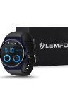 Cartão LEMFO BT4.0 inteligente Watch Phone 2G GSM Mini SIM 128MB 1,39