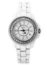 SINOBI Moda Luxo Diamante Mulheres Wacthes Cerâmica-Like Band Quartz Water-Proof Relógio de pulso Casual Relógio de Senhoras 2017