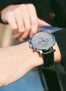 OCHSTIN Luxury Luminous Ultra Thin Quartz Men Military Watch