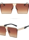 New Fashion UV400 Popular Pane Shape Vintage Summer Sunglasses
