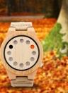 BOBOBIRD Mode Lässig Bambus Uhr Unisex Quarzuhr