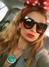 New Fashion Round Cat Eye  Euramerican Popular Frame Sunglasses