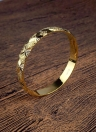 Модный блестящий позолоченный браслет Bangle All-Match Luxury Bridal Jewelry Accessory