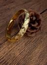 Bracelete de bracelete banhado a ouro brilhante e moda Brilhante acessório de jóias de luxo