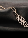 ROXI Elegant Hollow Angel Wing Charm Pendant for Necklace