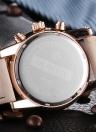 30M OCHSTIN 2017 Marque de luxe en cuir véritable Luminous Hommes Montres Quartz Analogique Water-Proof Man Casual Wristwatch Best Gift + Box