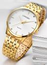 Relojes LONGBO Luxury Diamond Stainless Steel Couple