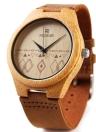 Redear Unique Natural Bamboo Wristwatch Eau Daily Resistant Simplicité Trendy Montre homme pour anniversaire de mariage