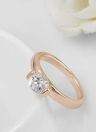 Roxi High Quality Fashion New Hot Sale Jewelry Rhinestone Gold Plated Ring for Women Engagement Wedding Gift