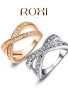 Roxi Zircon Gold Plated Ring