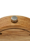 Redear relógio de madeira mulheres relógio de quartzo relógio de pulseira de couro genuíno feminino Relogio Feminino