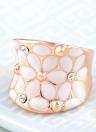 Roxi Moda Unique Jóia dedo anelar bonito de alta qualidade zircão cristal strass banhado a ouro por Mulheres Meninas do presente.