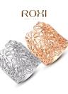 Bijoux Roxi New Hot Fashion plaqué or creux Bague Fleur Unique Design Bijoux pour Femmes Filles cadeaux de mariage