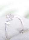 Moda 925 plata esterlina 12 zodiaco signos estrellas Horóscopo constelación en forma de regalo de joyería anillos abiertos para chicas mujeres hombres amantes de Lady boda