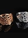 Bijoux Fashion Roxi New Hot Retro plaqué or creux Fleur Vintage Bague de haute qualité pour les femmes filles cadeau