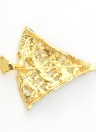 Новая мода Сияющий Rhinestone Кристалл Брошь Воротник Клип Pin Одежда аксессуар ювелирные изделия шарф Пряжка для отдыха подарка партии Рождество