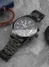 Romacci Moda 5ATM resistente à água dos homens clássicos de aço inoxidável Man relógio analógico relógio de alta qualidade Quartz Relógio de pulso com data Função