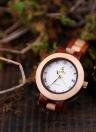 Reloj de arce de madera BOBOBIRD Fashion Women