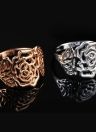 Roxi Retro Gold Plated Hollow Flower Vintage Ring