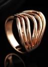 Рокси новый горячий Уникальный Позолоченные Классический ювелирные изделия кольца для женщин Свадебные Engagement Gift Девушки партии