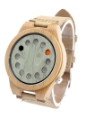 BOBOBIRD Fashion Casual Bamboo Watch Unisex Quartz Watch