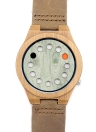 BOBOBIRD Fashion Casual Bamboo Watch Reloj de cuarzo unisex