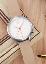 Shengke Moda simple 3ATM resistente al agua mujer reloj de cuarzo