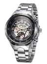 WINNER High-quality Skeleton Semi Automatic Men Mechanical Watch