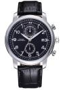 SINOBI chic haute qualité PU cuir bracelet montre unisexe Quartz Trendy montre-bracelet avec calendrier