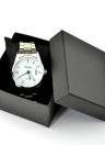 Chic Square Watch Box Montre bracelet avec coussin éponge