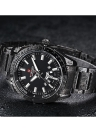 NAVIFORCE 3ATM Water Resistant Stainless Steel Men's Analog Quartz Watch with Date Week