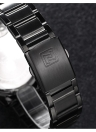 Aço inoxidável NAVIFORCE 3ATM resistente à água Man Analog Watch Alta Qualidade Watchband Quartz Relógio de pulso do negócio com Data Semana Função