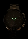 Fashion Water Resistant Alloy Strap Stainless Steel Men's Quartz Watch