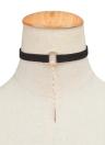 Colgante de cuero de moda colgante collar de estrangulación