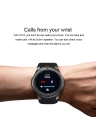 LEMFO Android 5.1 OS Pedometer Heart Rate AMOLED Screen Smartwatch