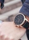 OCHSTIN Antique Luxury Genuine Leather Quartz Men Casual Watch