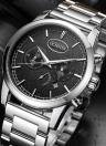 OCHSTIN Luxus-Edelstahl-Geschäftsmann-Quarz-Wasser-Beweis-Uhr